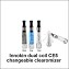 Clearomizer The Holy Grail Changeable DUAL COIL